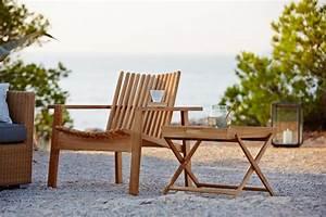 Lounge Sessel Holz : garten lounge sessel amaze von cane line bild 3 living at home ~ Indierocktalk.com Haus und Dekorationen