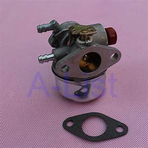 Carburetor For Tecumseh 5hp 6hp 6 5hp 193cc Hor Ohv Engine