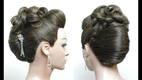 French Roll. New Juda Hairstyle For Long Hair Tutorial