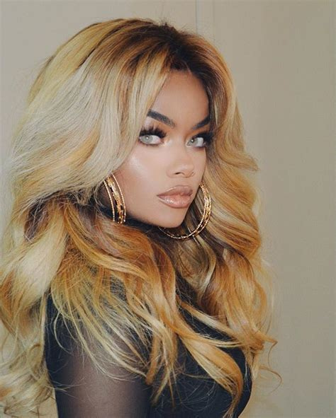 black girl blonde hairstyles awesome  unique blonde