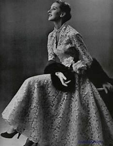 pierre balmain 1953 vintage tea length wedding dress With balmain wedding dress