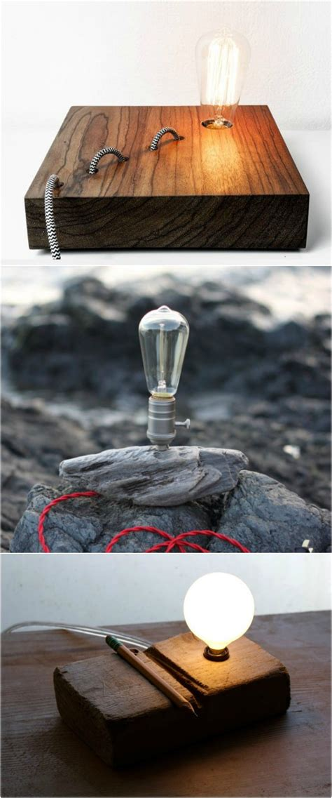 handmade wooden desk lamps id lights