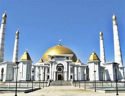 Mosque Turkmenbashi Turkmenistan Ruhy Xcitefun Magmas Julkalender