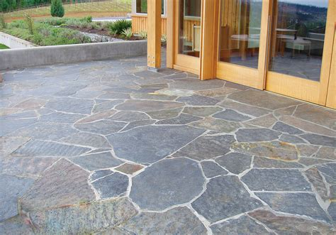 Flagstone Patio Installation
