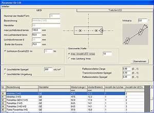 Stromkreise Berechnen : led cad software fard lighting gmbh ~ Themetempest.com Abrechnung