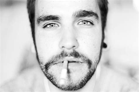Tattoos, Beard, Black And White, Boy  Image #651702 On