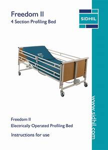 Freedom Ii Profiling Bed User Guide