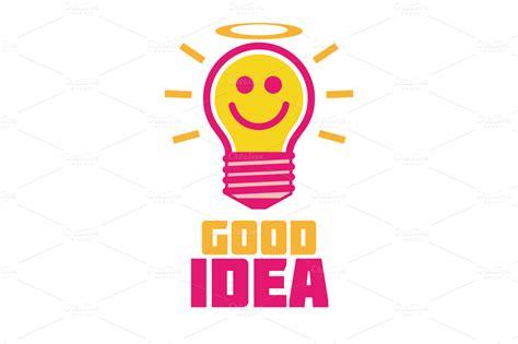 Good Idea  Logo Templates On Creative Market