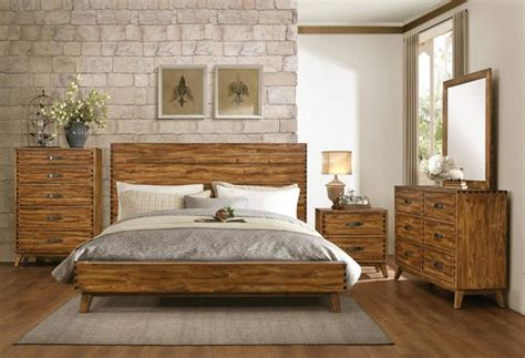 Sorrel Modern Rustic Solid Wood Master Bedroom Set