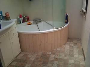 Habillage De Baignoire : habillage de baignoire d 39 angle et de wc innov 39 d co ~ Dode.kayakingforconservation.com Idées de Décoration