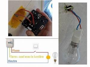 Comment Installer Un Lustre : cabler un interrupteur installer brancher un ~ Dailycaller-alerts.com Idées de Décoration