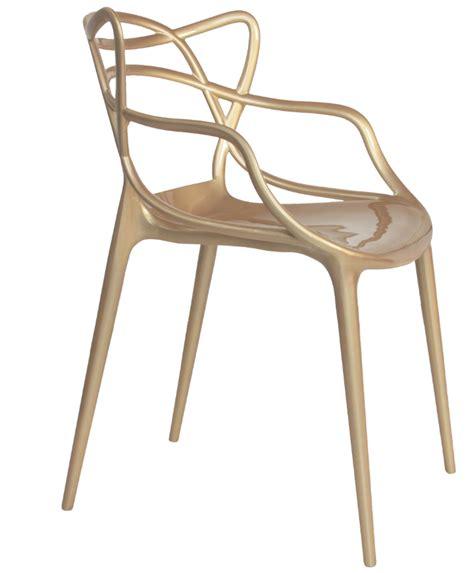 Philip Starck Stuhl by Replica Philippe Starck Chair In Metallic Matt Blatt