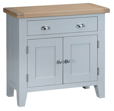 Fully Assembled Sideboards by Woodbridge Grey Small Sideboard Fully Assembled Oak World