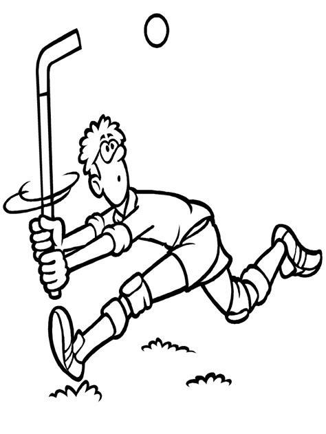 dessins de hockey  colorier