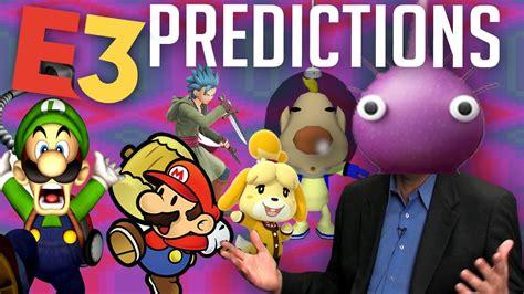 NINTENDO E3 2019 PREDICTIONS - YouTube