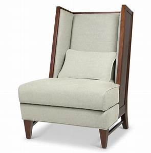 Dylan, Mid, Century, Modern, Wood, Back, Wing, Back, Accent, Chair