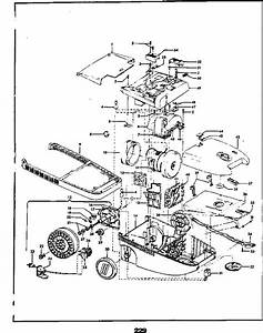 Hoover S3575 Spectrum Canister Vacuum Parts List  U0026 Schematic