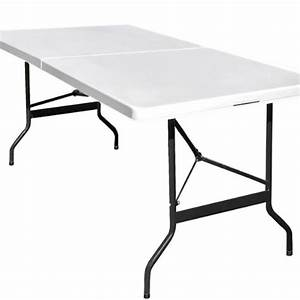Table De Camping Pliante : table camping buffet traiteur pliante 240 cm table jardin ~ Dailycaller-alerts.com Idées de Décoration