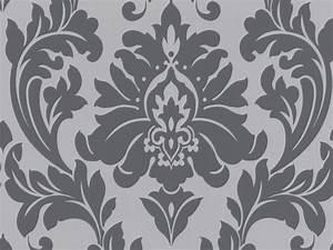 Black And White Damask Wallpaper 22 Hd Wallpaper ...