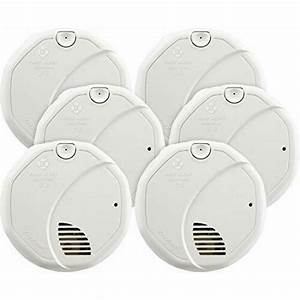 First Alert Brk 9120b Hardwired Smoke Detector With