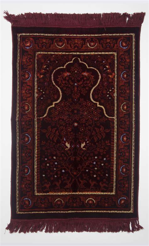 red prayer rug