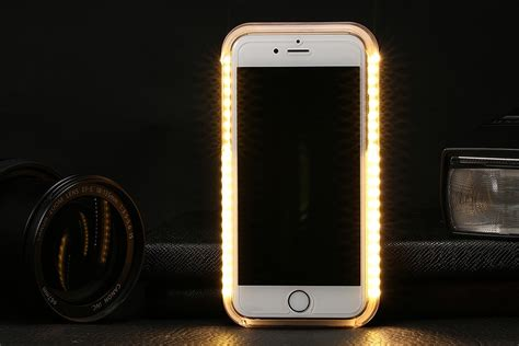 iphone led iphone 6 6s led selfie h 252 lle phoneria ch schweiz