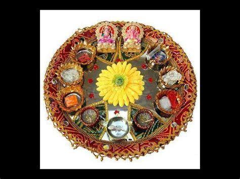 navratri aarti thali decoration ideas boldskycom
