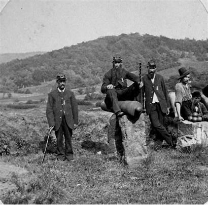 Civil War Union Veterans Gettysburg Portrait Cemetery