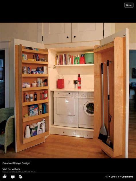 Laundry Cupboard Ideas by Secret Utility Cupboard Kitchen Dining Room