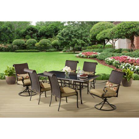 Better Homes And Gardens Patio Furniture Sets better homes and gardens riverwood 7 patio dining