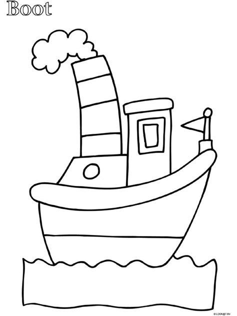 Kleurplaat Boot kleurplaat peuter kleurplaat boot kleurplaten nl kdv