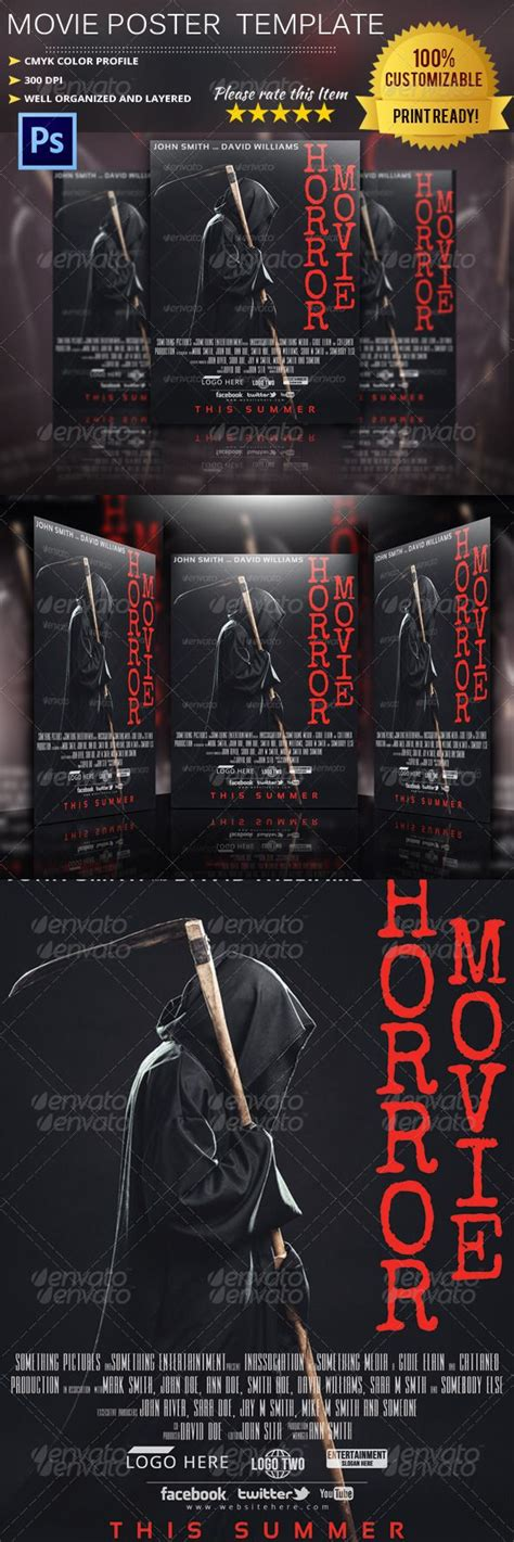 1000+ Ideas About Movie Poster Template On Pinterest