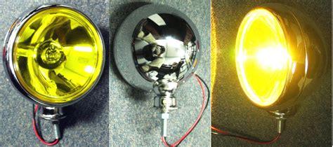 light bulb mount high power fog driving lights