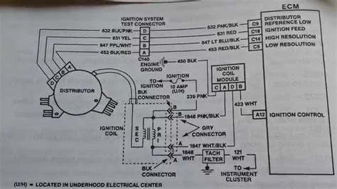 Lt1 Ignition Module Wiring Diagram by General Motors Opti Spark Distrubutor Ignition For Lt1