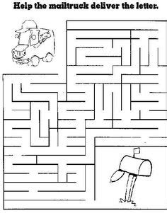 free printable mazes for at allkidsnetwork