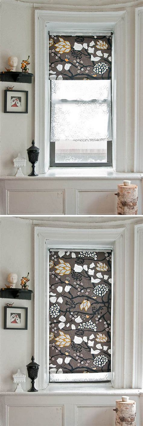diy roller shade roller blinds diy craft ideas pinterest