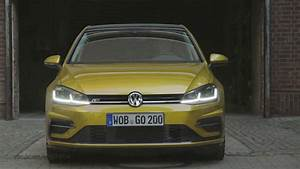 Golf 7 R Line : 2017 volkswagen golf 7 r line city driving youtube ~ Medecine-chirurgie-esthetiques.com Avis de Voitures