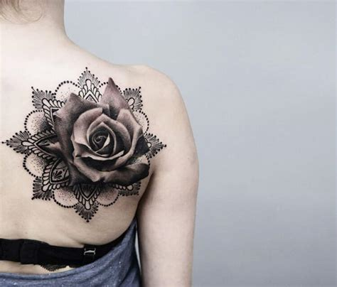 mandala rose tattoo  timur lysenko