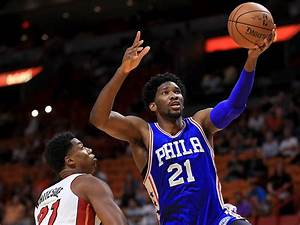Joel Embiid Will The Process Win Rookie Of The Year