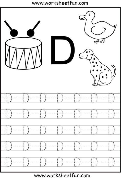letterdtracingworksheets activities