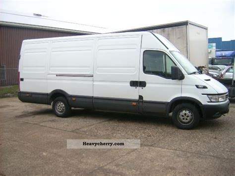 Iveco Daily 35s17 Maxi Engine Damage 2006 Box-type