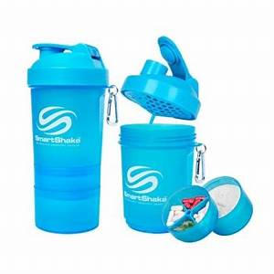 SMARTSHAKE 200oz 600ml neon blue Farmacia Del Ni±o