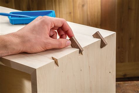 how it works dress up box joints with decorative splines woodworking network