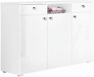 Kommode Weiß Hochglanz 150 Cm : kommode milano breite 120 cm online kaufen otto ~ Bigdaddyawards.com Haus und Dekorationen