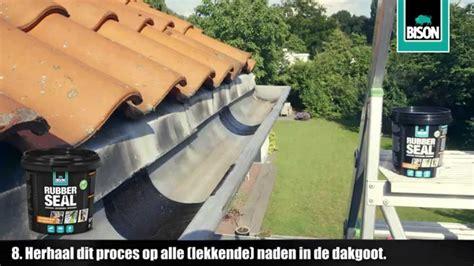lekke dakgoot repareren hoe repareer je een dakgoot klustips youtube