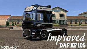 Daf Xf 105 : improved daf xf 105 v 1 6 mod for ets 2 ~ Kayakingforconservation.com Haus und Dekorationen