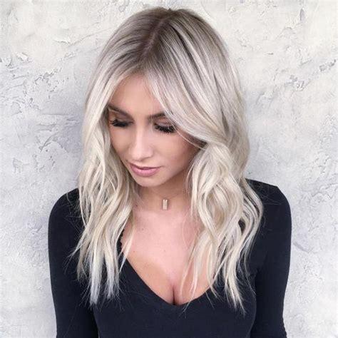 Ombré Hair Blond Polaire Balayage Scandinave Blond Polaire 8 Valentin Coiffeur Coloriste