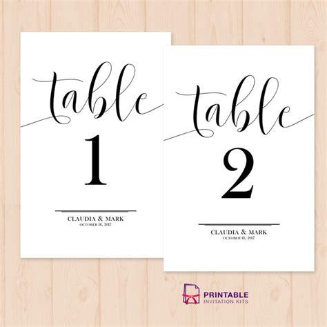 wedding table numbers template 219 best wedding invitation templates free images on bridal invitations