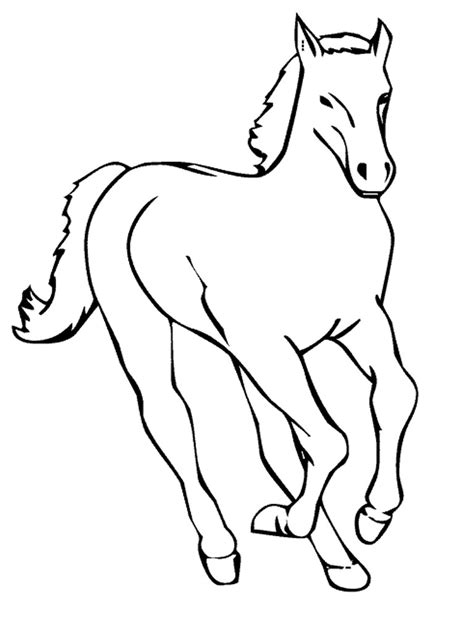 horse coloring pages coloringpages
