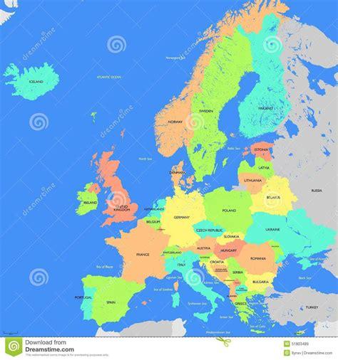 Carte De L Europe 2017 by Carte De L Europe D 233 Taill 233 E 187 Vacances Arts Guides Voyages